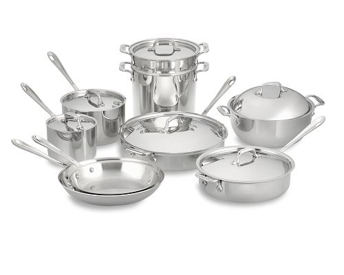All-Clad Stainless-Steel 15