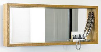 deep framed landscape mirror