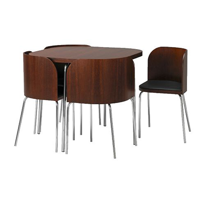 fusion dining table and chair set