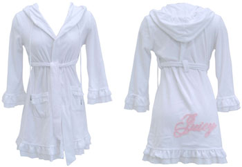 Juicy Couture Terry Bathrobe