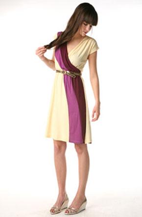Lux Diana Wrap Dress