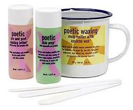 Bliss Poetic Cosmetic Waxing Kit