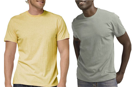Fitted Cotton Crew from Banana Republic