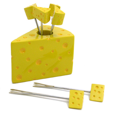 Cheese Wedge Party Picks