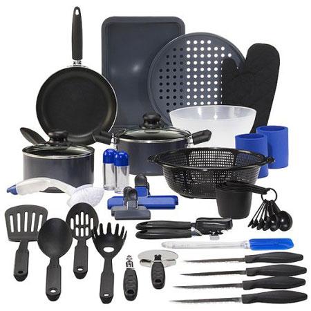 Chefmate® Kitchen in a Box First Apartment Starter Set