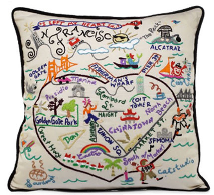 StatePillows.com - FREE SHIPPING! Hand Embroidered State Pillows