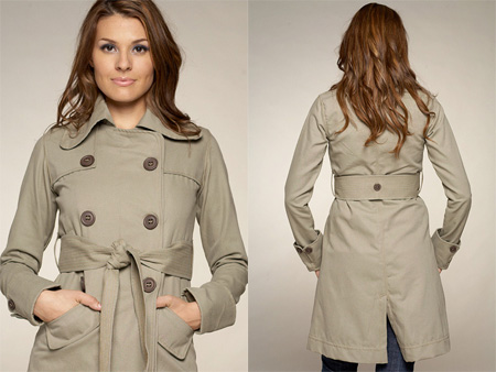 Mike & Chris Quentin Long Trench Coat