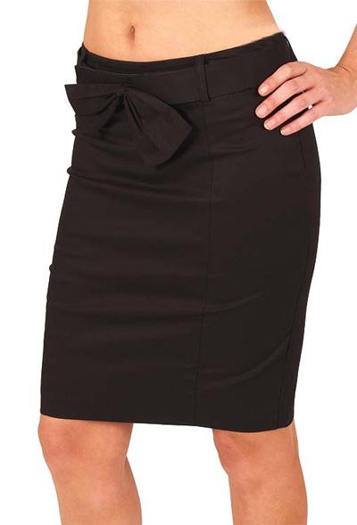 Seline Twill Pencil Skirt