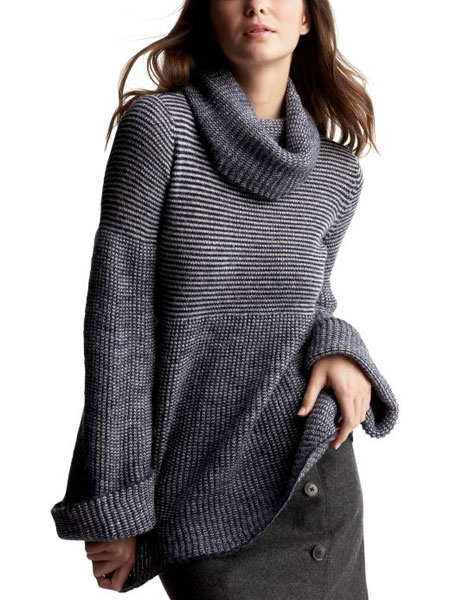 Swing Cowl Neck Sweater