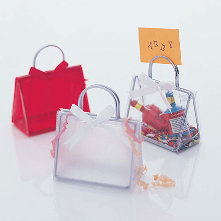 Mini Handbag Place Card Holders