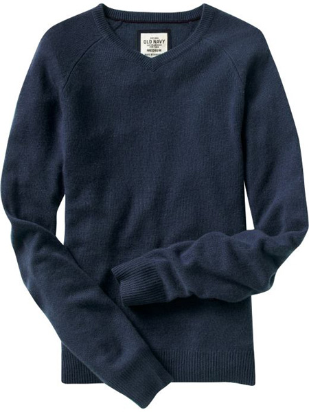 Cashmere V-Neck Sweaters