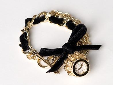 Juicy Couture Rue de Pacoima Crown Watch