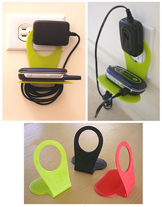 Mobile Device Charging Holder