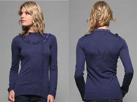 Hope & Glorie Ruffle Sweater