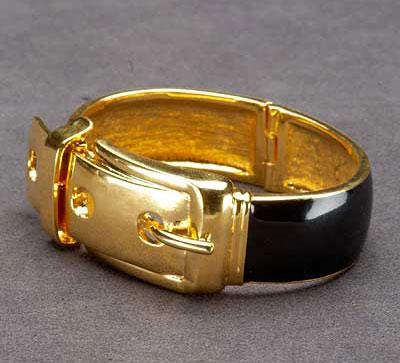 CC Skye Wide Buckle Bracelet