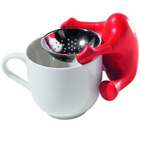 Te o' Tea Strainer by Alessi