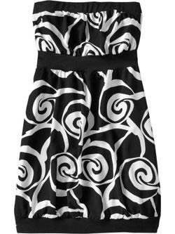 Chiffon Tube Dresses