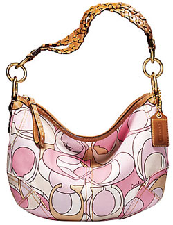 COACH SOHO MULTI PRINT HOBO
