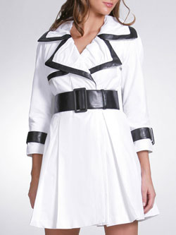 Arden B Color Block Trench