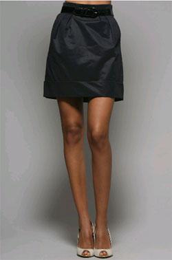 Parameter High Waist Mini Skirt