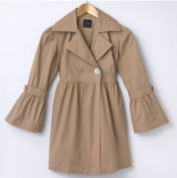 My Michelle Khaki Trench Coat
