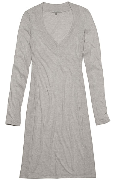 James Pearse Side Panel Wooly Jersey Dress