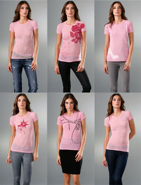 Bop Basics Tees - Breast Cancer Awareness