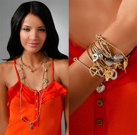Braided Heart Bracelet/Necklace from Accessories & Beyond
