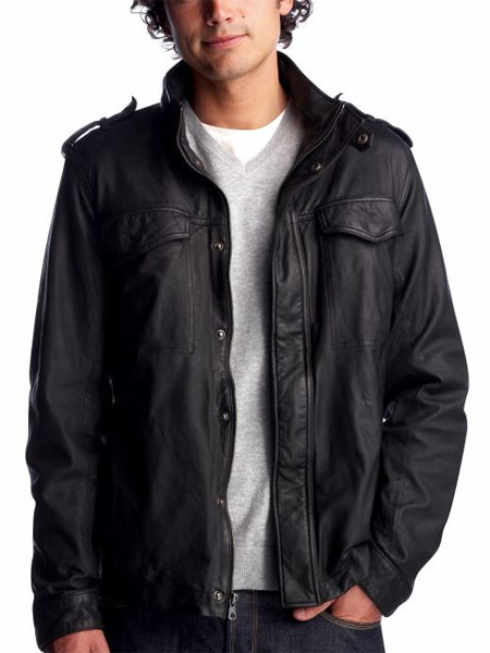 Gap Leather Private Jacket