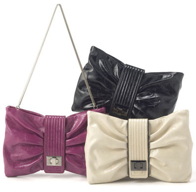 Soft Bow Date Bag
