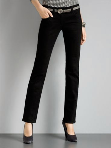 Fit and Flare Jeans from NY & Company