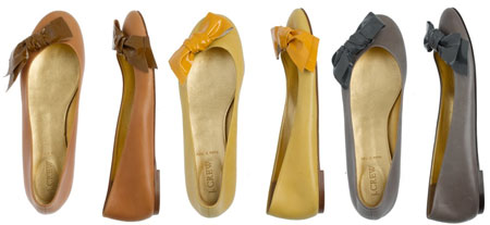 Lulu Leather Ballet Flats