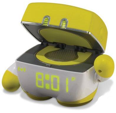 Tantrum Throwing Alarm Clock