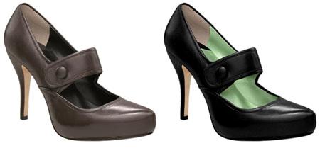 Zera Leather Mary Jane Platform
