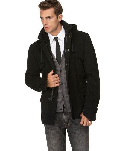 DKNY Wool Blend Jacket