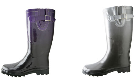 American Eagle Ombre Rain Boots from Payless