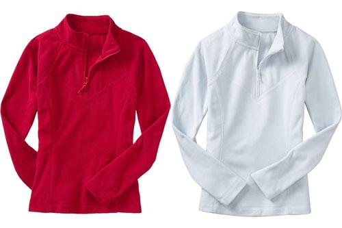 Micro Performance Fleece 1/2 Zip Pullovers