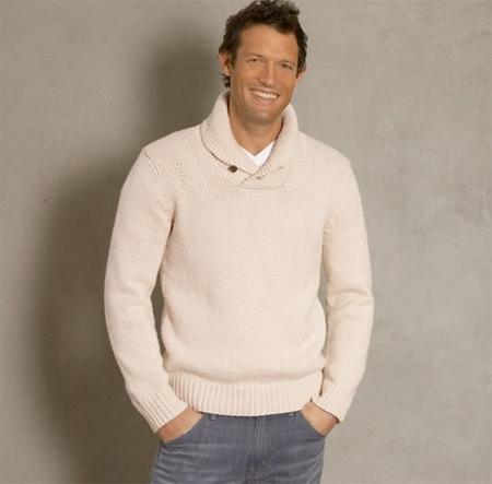 shawl-collar-pullover
