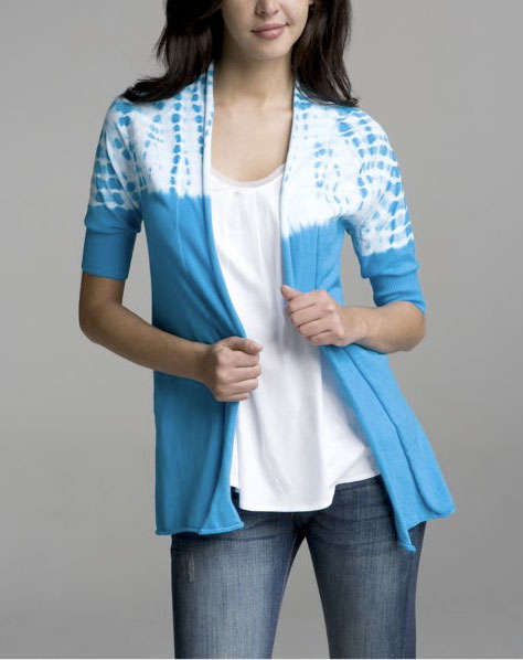 Express Elbow-Sleeve Fly Away Cardigan