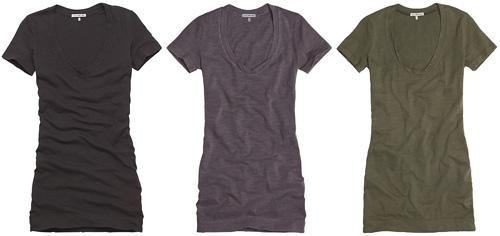 James Perse Scoop T-Shirt Dress