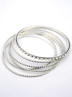 Jane Diaz Sterling Silver Bracelets