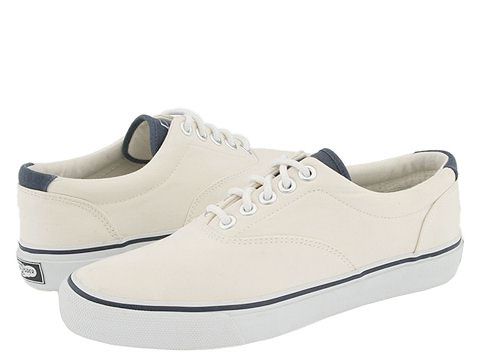 Sperry Top-Sider Striper Lace White