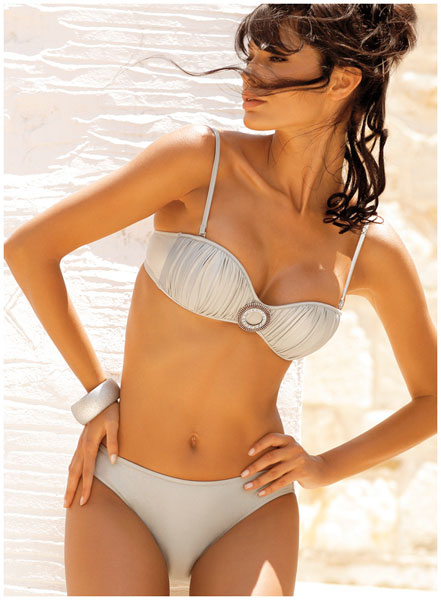Two Piece Silver Nights bikini