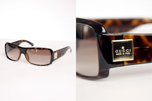 Rectangular Sunglasses by Gucci