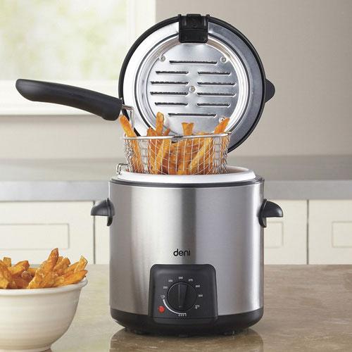 waring pro deep fryer cooking times