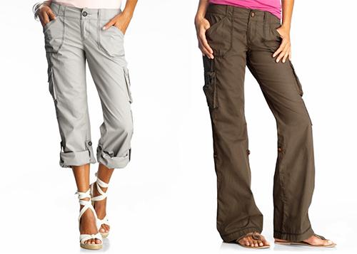 Lightweight Cargo Pants Womens