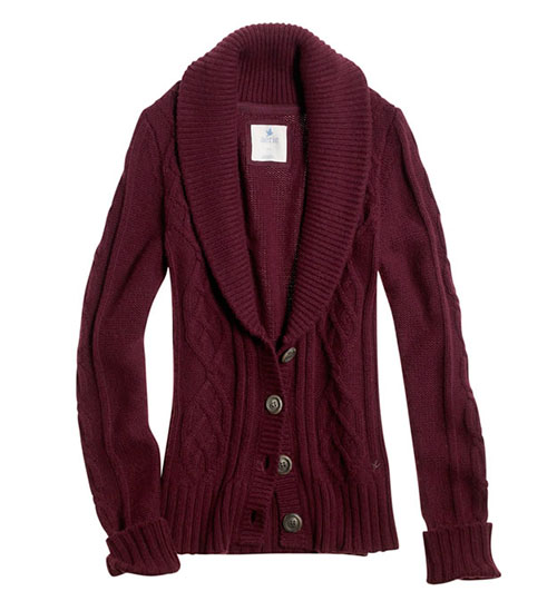 aerie-cable-knit-cardigan