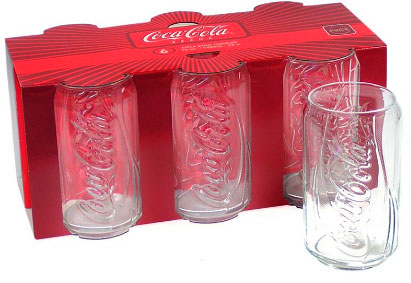 Luminarc coca cola glasses damn i like that - Verre coca cola luminarc ...