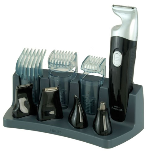 philips norelco grooming kit damn i like that. Black Bedroom Furniture Sets. Home Design Ideas